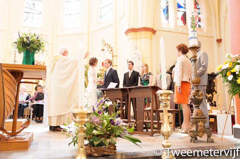 Huwelijksreportage dorien en gosse kerkelijk huwelijk
